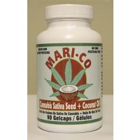Mari-Co - Cannabis Sativa Seed Oil Plus Coconut Oil - 90 Gelcaps